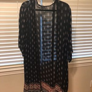 Light weight cardigan - western/Tribal pattern